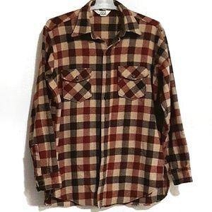 Vintage Woolrich Woodsman Wool Flannel XL